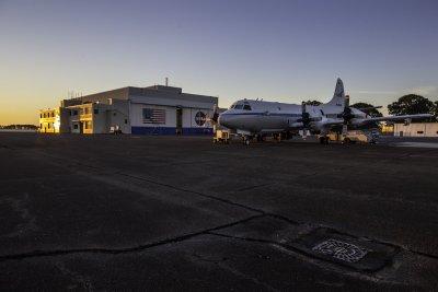 NASA's P-3 aircraft