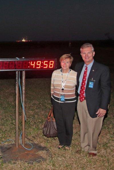 Virginia Secretary of Transportation Aubrey Layne and Peggy Layne